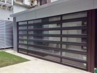 Modern custom garage doors eden style