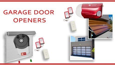 Automatic Garage Door Openers & Closers