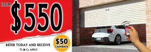 Garage door openers prices Melbourne