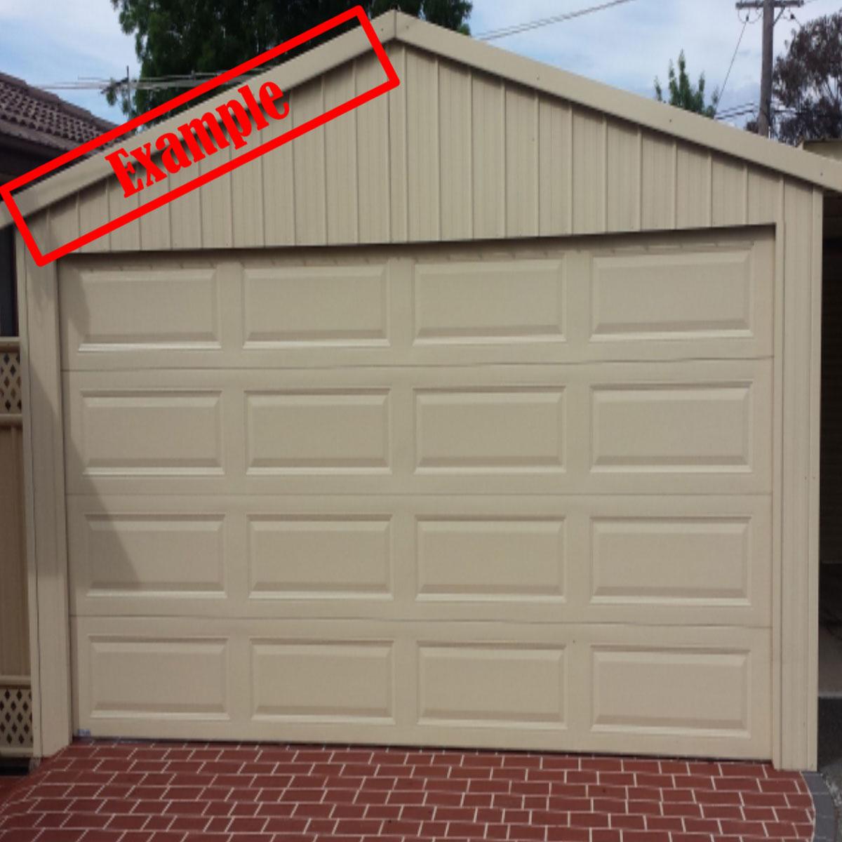 Taurean Sectional Panel Garage Door